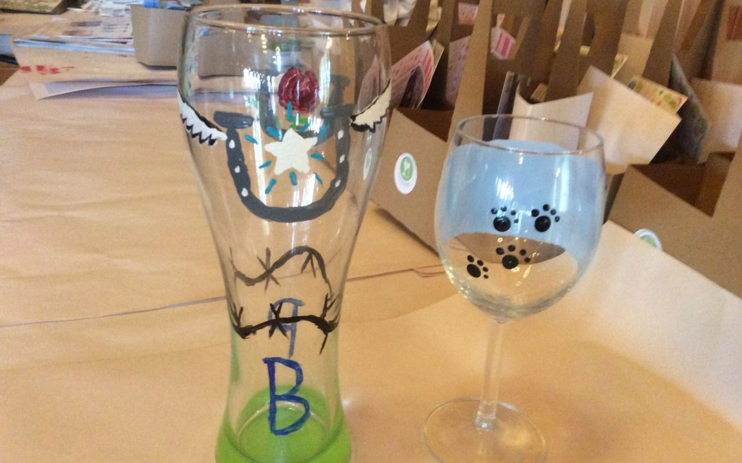Beer & Wine Glass Paint Party