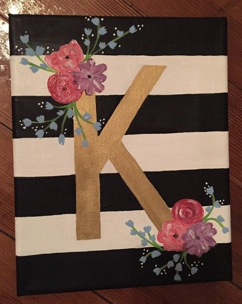 """""""Initial"""" Painting Class"""