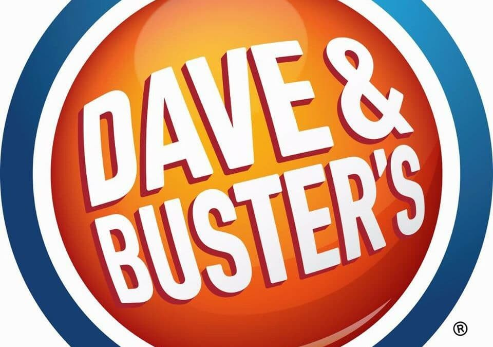 Vendor Opportunity Dave & Buster's Events – CANCELLED