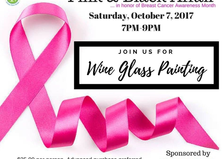 Pink & Black Affair in honor of Breast Cancer Awareness Month