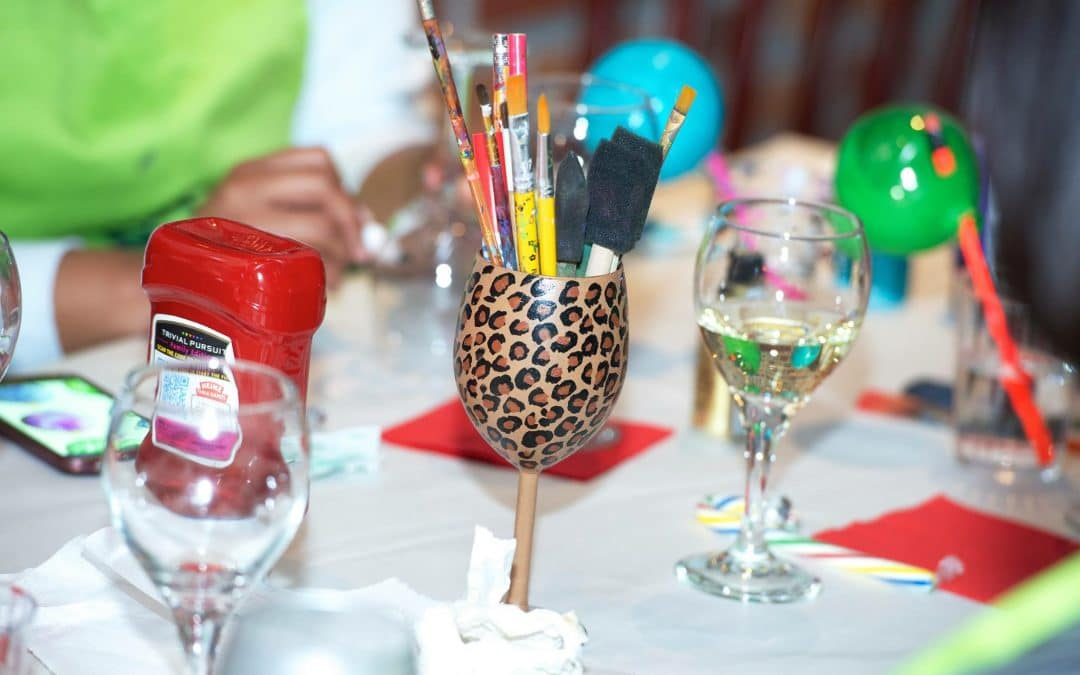 Wine Glass Paint Party