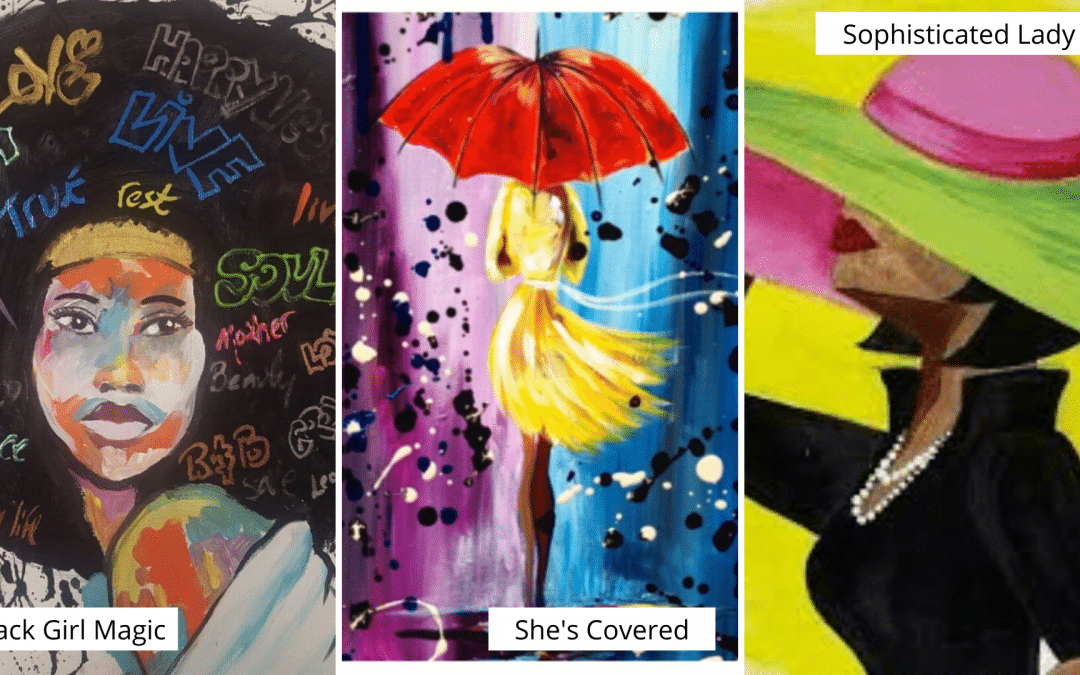 Women's History Month Sip and Paint