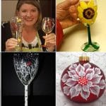 Northern Middle Wine Glass & Ornament ~ Sip & Paint Fundraiser