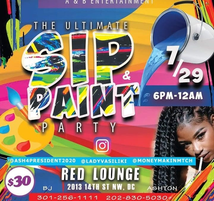 The Ultimate Sip & Paint Party